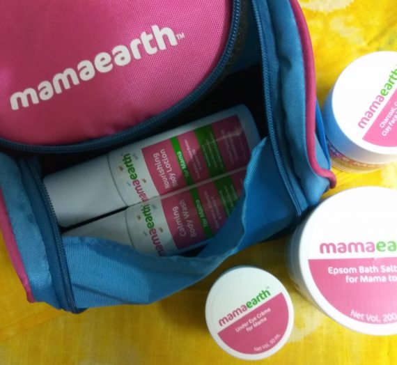 MamaEarth Mom's Range – Product Review