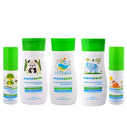 Mama Earth Baby Range Products – Review