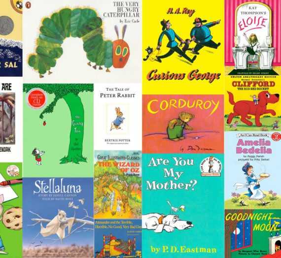 Suggested books for Toddlers